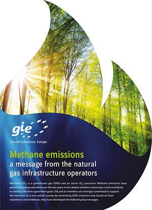 GIE brochure - Methane emissions - a message from the natural gas infrastructure operators